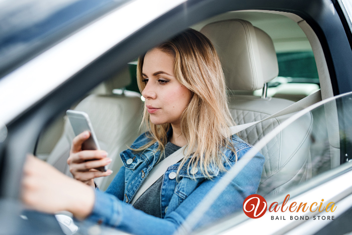 Texting and Driving in California